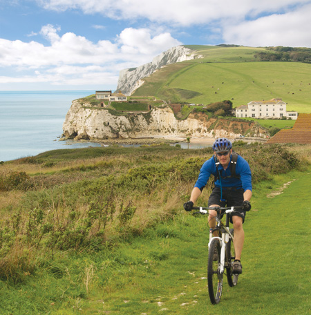 Cycling on the Isle of Wight with the West Bay Club