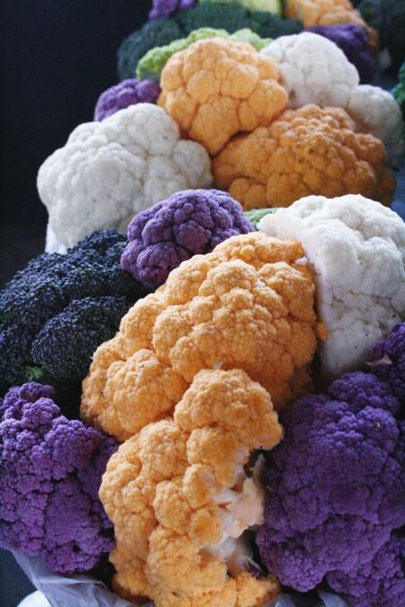 Jean-Talon Market, Montreal - rainbow cauliflower