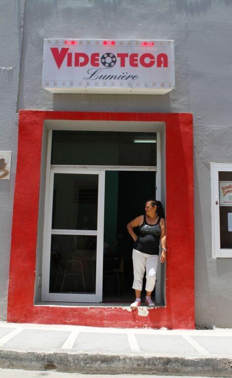A cinema in Camaguey, Cuba