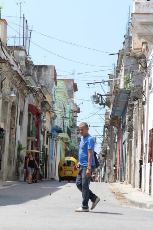 A street in Camaguey, Cuba